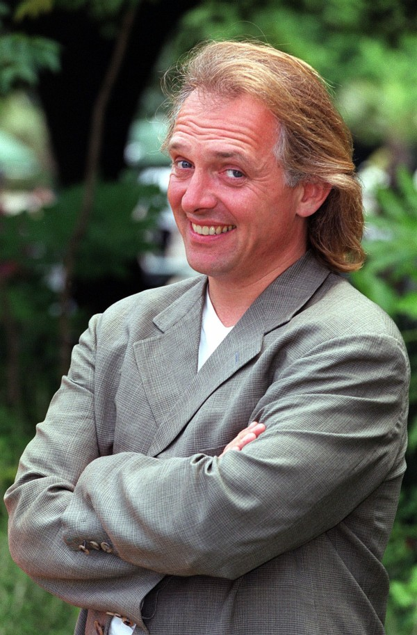 A picture of Rik Mayall