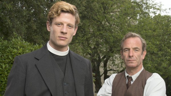 James Norton and Robson Green star in Grantchester
