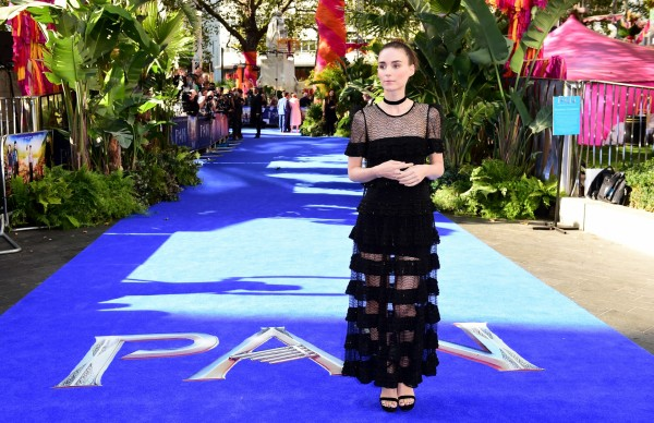 Rooney Mara at the Pan premiere