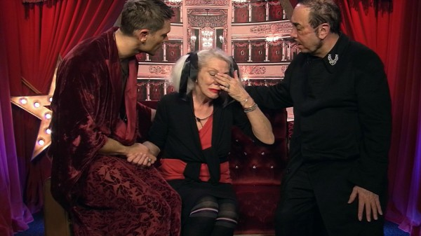 Celebrity Big Brother's Angie, John Partridge and David Gest