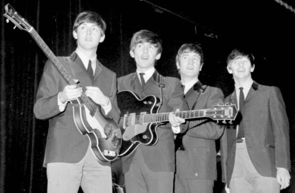 The Beatles: Paul McCartney, George Harrison, John Lennon and Ringo Starr