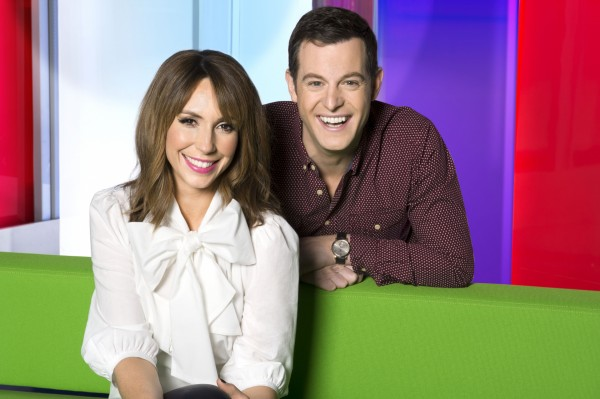 The One Show's Alex Jones and Matt Baker (BBC)