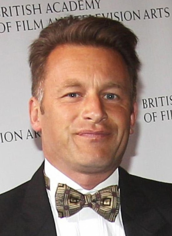 Chris Packham at an awards ceremony