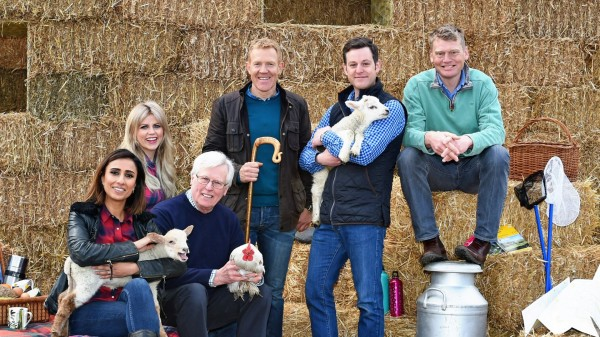 Countryfile presenters Anita Rani, Ellie Harrison, John Craven, Adam Henson, Matt Baker and Tom Heap
