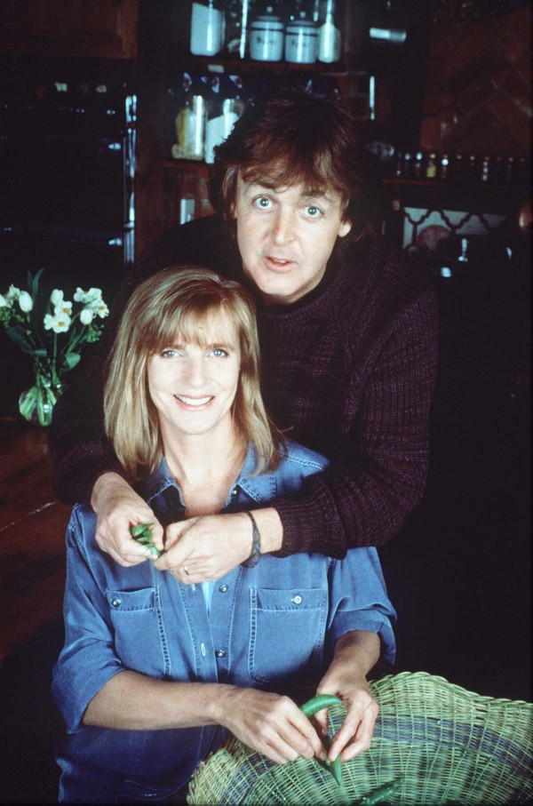 Sir Paul and his late wife Linda (PA)