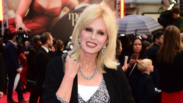 Joanna Lumley at a premiere