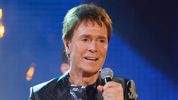 Cliff Richard on stage