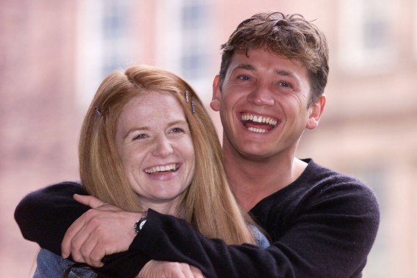 Sid starred as Ricky opposite Patsy Palmer as Bianca (Phil Noble/PA)