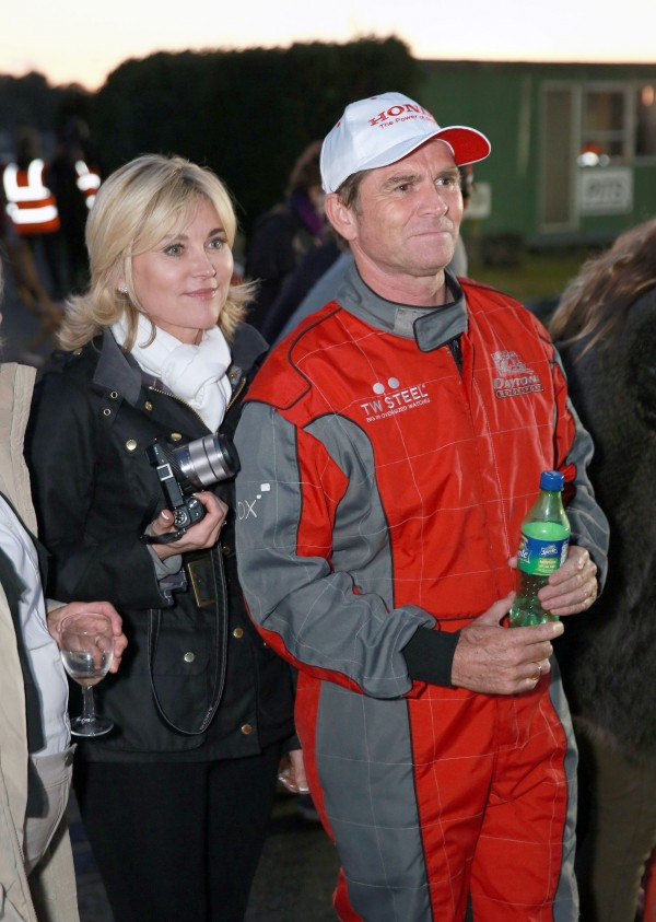 Anthea Turner and Grant Bovey in happier days (Matt Alexander/PA)