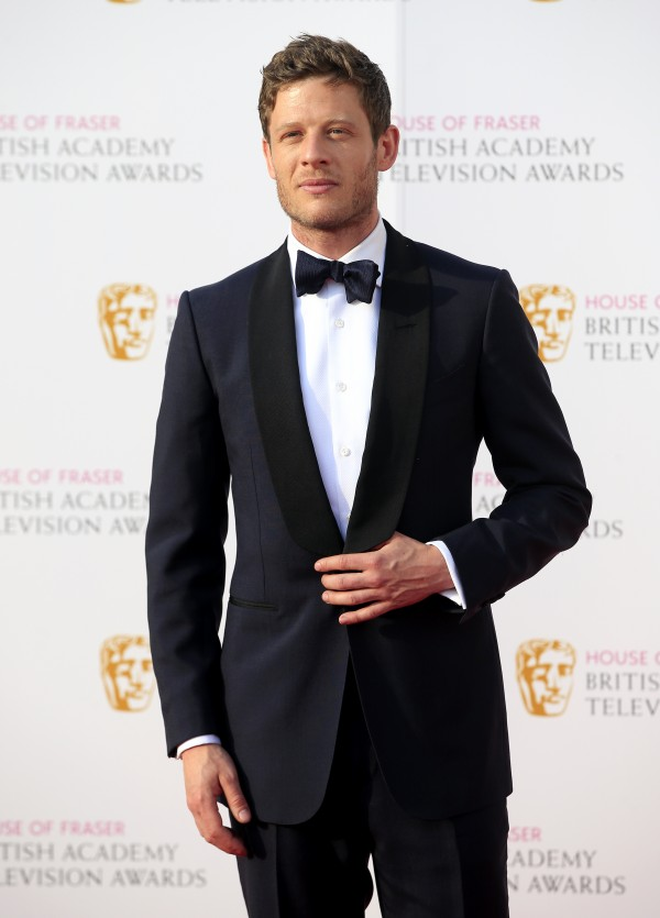 James Norton attending the House of Fraser BAFTA TV Awards 2016 (Ian West)