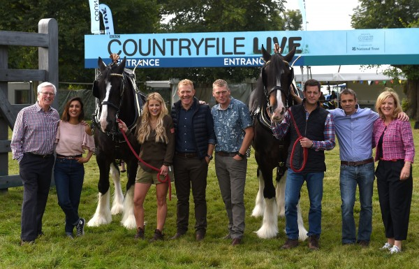 The Countryfile presenters