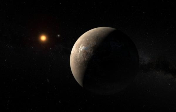 Proxima Centauri planet.