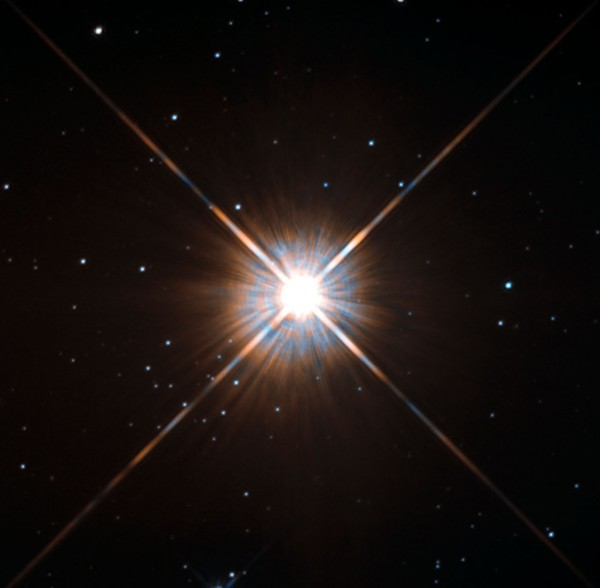 Proxima Centauri taken by Hubble Telescope.