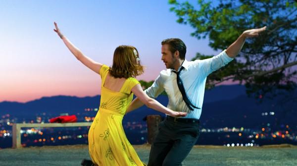 Emma Stone and Ryan Gosling star in La La Land (PR Handout)