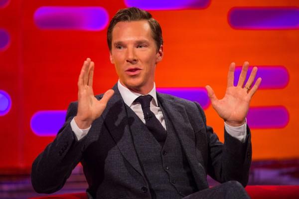 Benedict Cumberbatch on Graham Norton