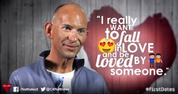 Thomas went on the widely watched dating show to raise awareness (TwentyTwenty Television/ Channel 4)