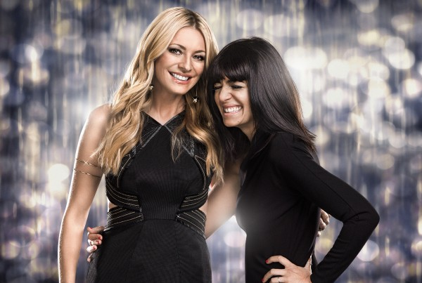 Tess and with co-host Claudia Winkleman (BBC)