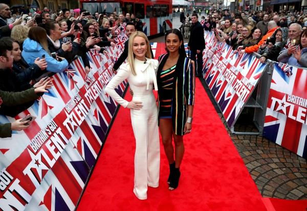 Amanda Holden and Alesha Dixon (Peter Byrne PA Wire/PA Images)