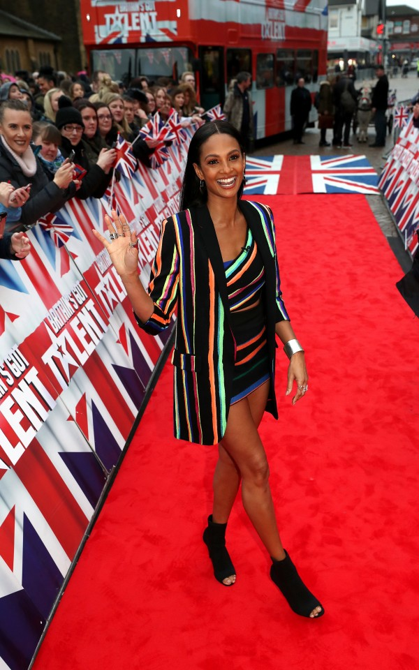 Alesha Dixon (Peter Byrne PA Wire/PA Images)