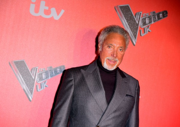 Sir Tom Jones attending the Voice UK Launch (Ian West/PA Wire/PA Images)