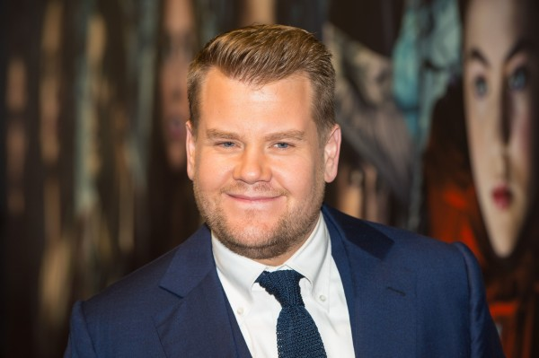 James Corden (Dominic Lipinski/PA)