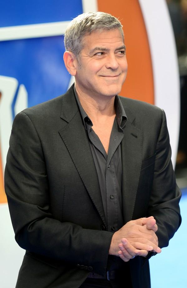 George Clooney (Anthony Devlin/PA)