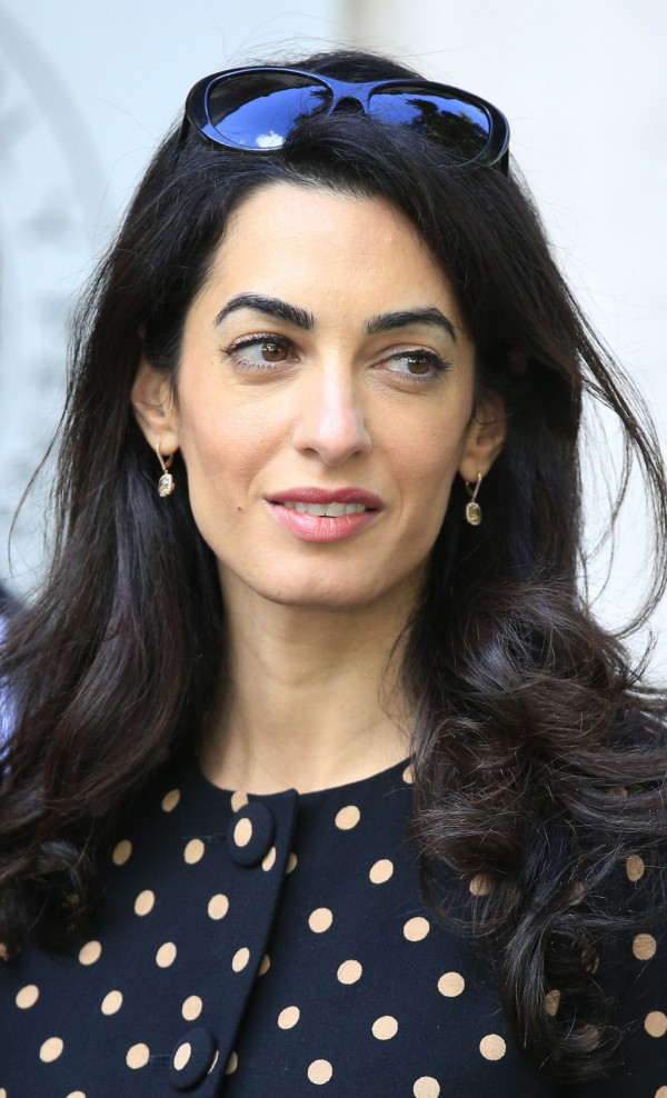 Amal Clooney (Jonathan Brady/PA)