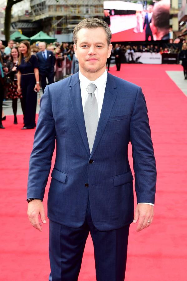Matt Damon (Ian West/PA)