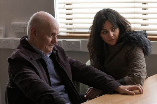 Still Handout from I, Daniel Blake. Pictured: Dave Johns as Daniel Blake and Hayley Squires as Katie. Picture credit should read: PA Photo/Entertainment One.