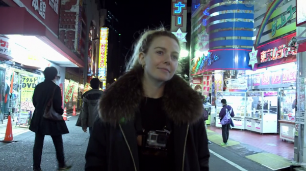 Stacey in Tokyo