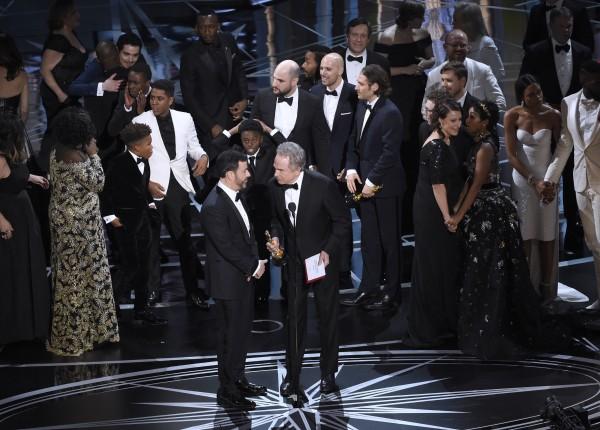 Oscars chaos