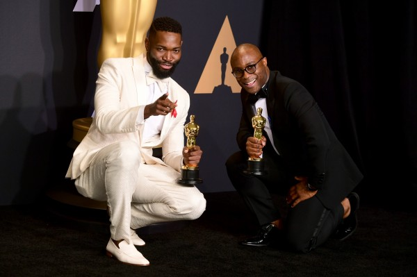 Barry Jenkins (right) and Tarell Alvin McCraney