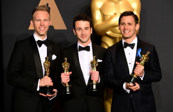 Justin Hurwitz, Benj Pasek and Justin Paul