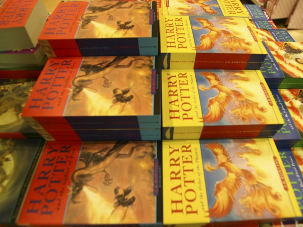 The Harry Potter books on sale - (Ben Stansall/PA)