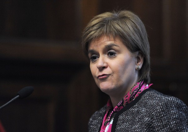 Nicola Sturgeon has suggested autumn 2018 for the new poll (Nick Ansell/PA)