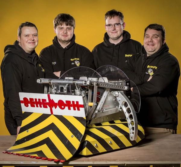 Team Behemoth from Robot Wars (BBC/Mentorn Media Scotland/Alan Peebles)