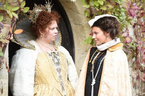 Queen Katy and Queen Michelle.