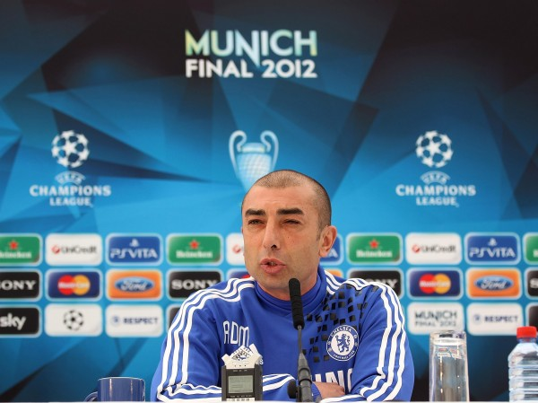 Former Chelsea manager Roberto Di Matteo