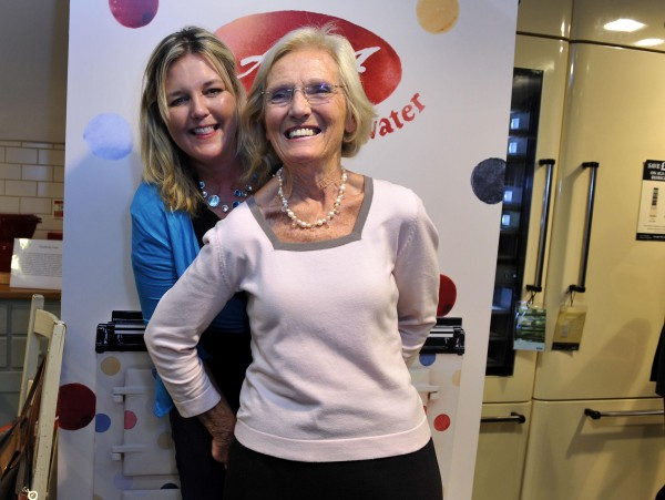 Mary Berry and Lucy Young