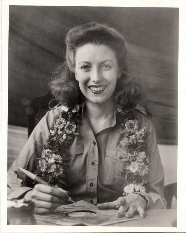 Dame Vera donned military uniform to join the boys in Burma.