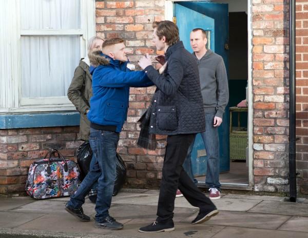 Rob Mallard's fight scene (ITV)