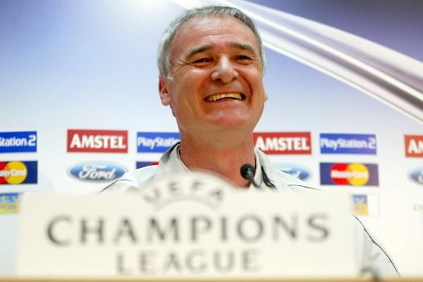 Ranieri smiling