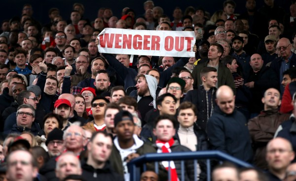 Wenger (Nick Potts/PA)
