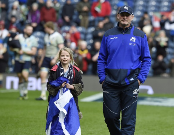 Scotland coach Vern Cotter.