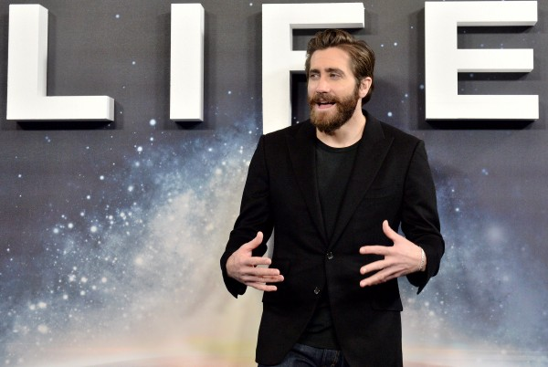 Jake Gyllenhaal attending the Life Photocall, held in the Court Room at The Corinthia Hotel, London