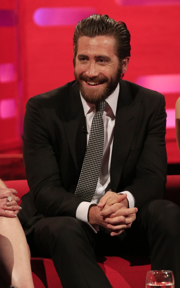 Jake Gyllenhaal during filming of the Graham Norton Show at the London Studios