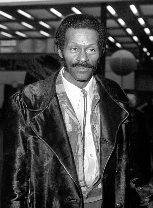 American rock 'n' roll star Chuck Berry