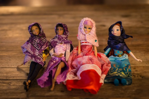 dolls in hijabs