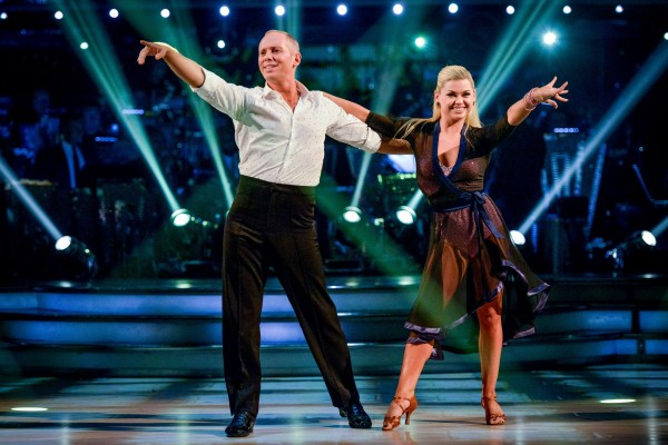 Strictly Come Dancing's Judge Rinder and Oksana Platero