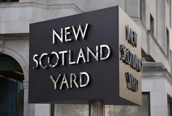 The sign at New Scotland Yard